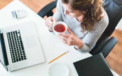 L'organisation d'une rédactrice web en freelance