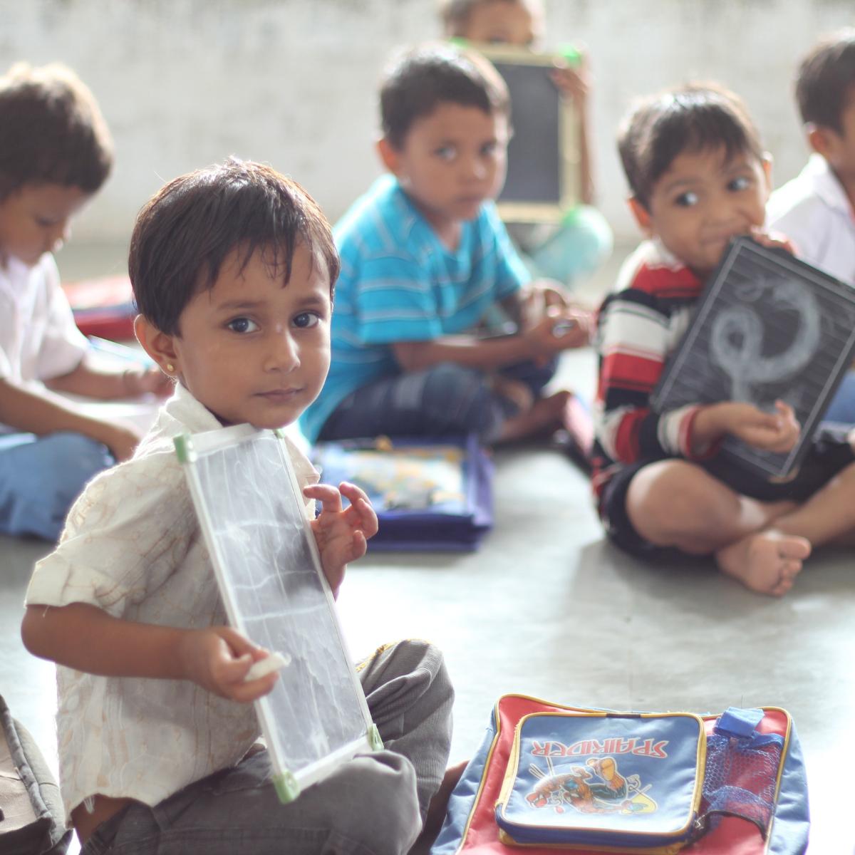 article école du bonheur en Inde Aline Rédaction web