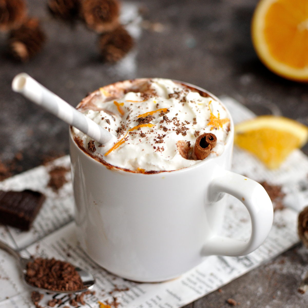 article seo chocolat chaud Aline Rédaction web