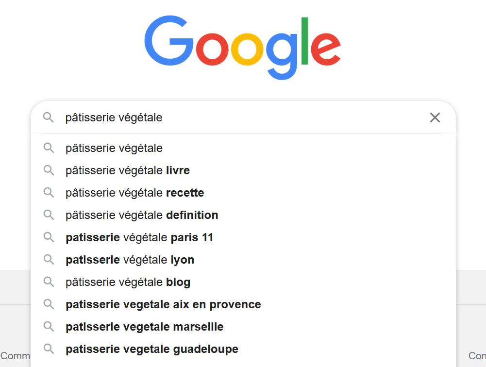 google suggest idées articles blog