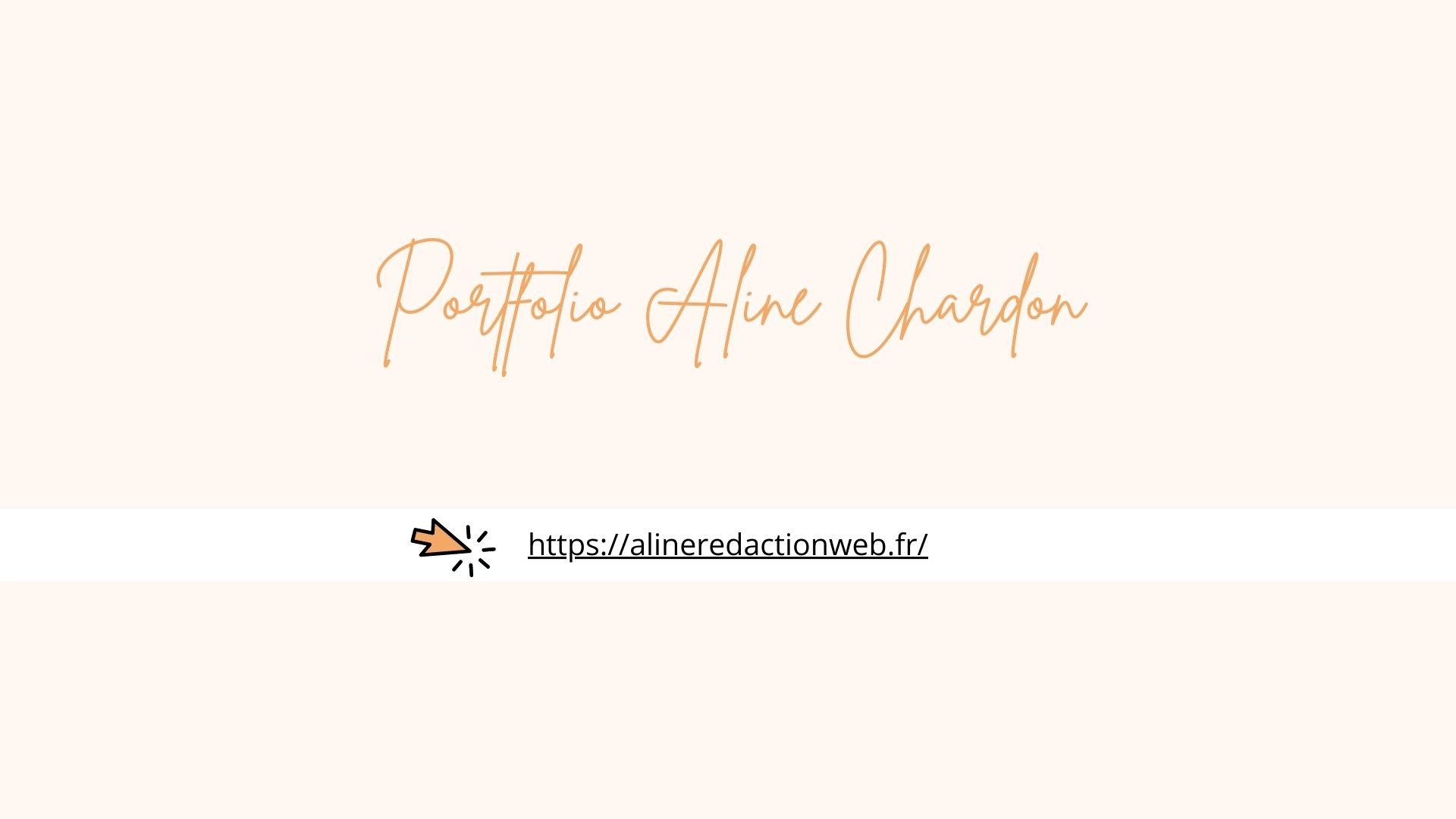 portfolio rédaction web